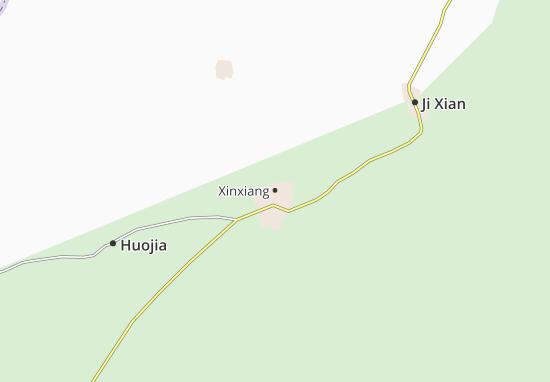 Xinxiang Map