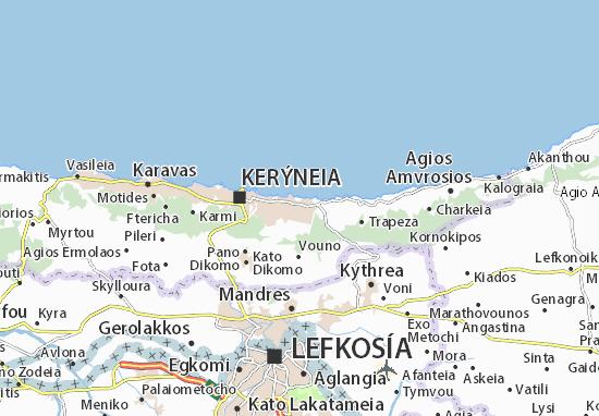 Mapas-Planos Agios Epiktitos