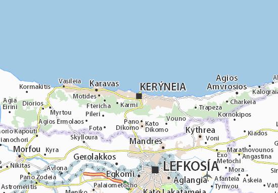 Mappe-Piantine Kerýneia