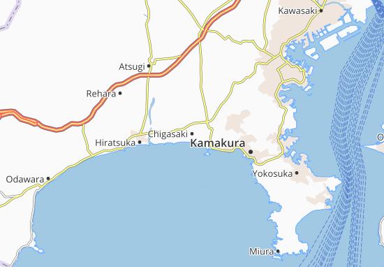 Chigasaki Map