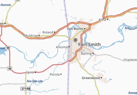 Arkoma Map
