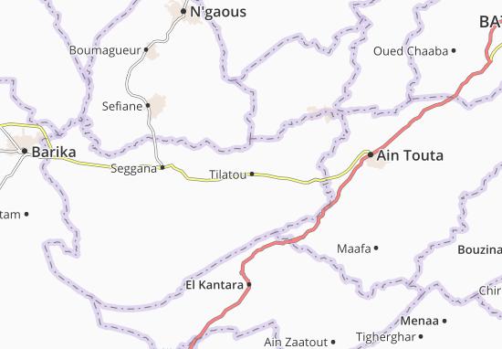 Carte-Plan Tilatou