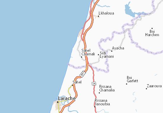 Mapa Plano Sahel Chamali