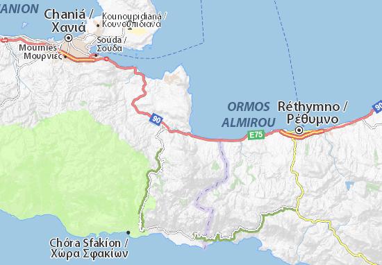 Georgioúpoli Map