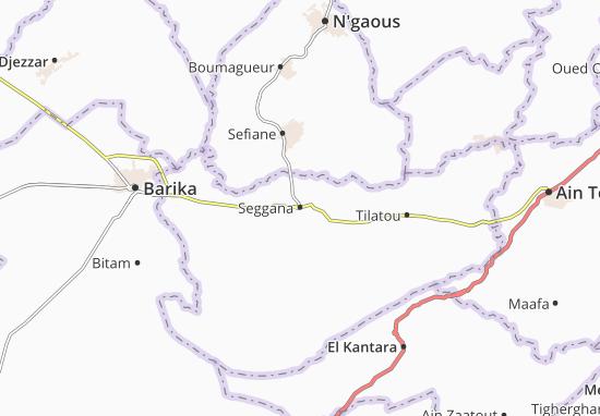 Carte-Plan Seggana