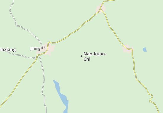 Map Of NanKuanChi Michelin NanKuanChi Map ViaMichelin - Jining map