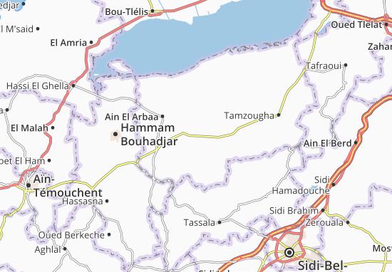 Carte-Plan Oued Sebbah