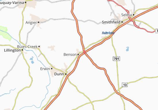 Benson Map