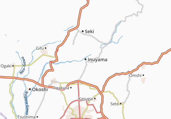 Mapa Plano Inuyama