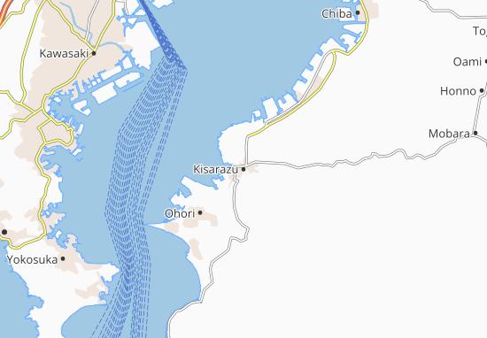 Mapa Plano Kisarazu