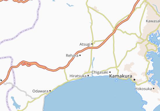 Mapa Plano Rehara