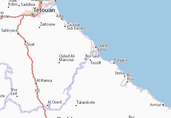 Mapa Plano Bni Said
