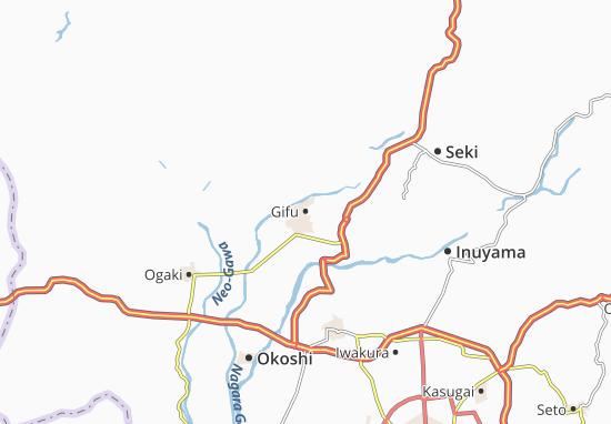 Carte-Plan Gifu