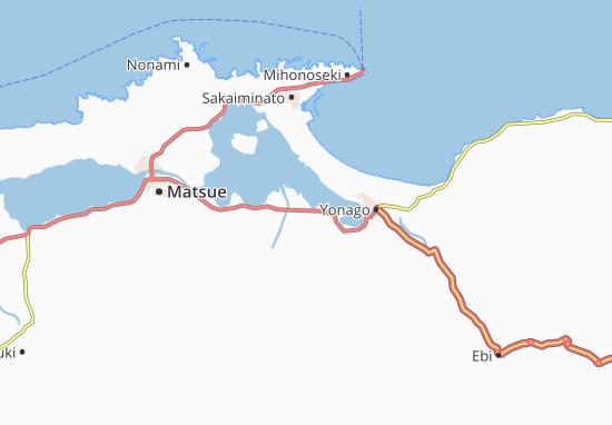 Yasugi Map
