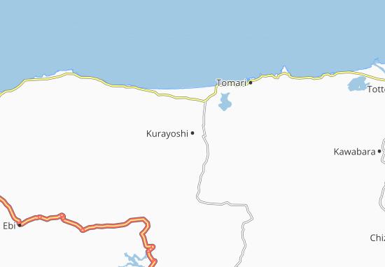 Mapas-Planos Kurayoshi