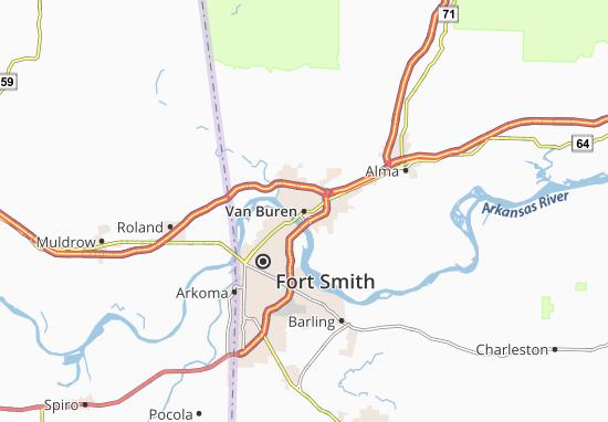 Van Buren Map