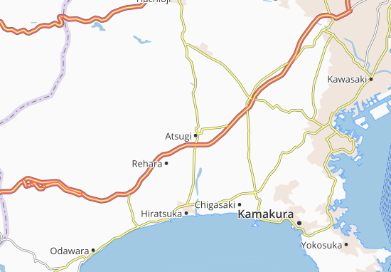 Atsugi Map