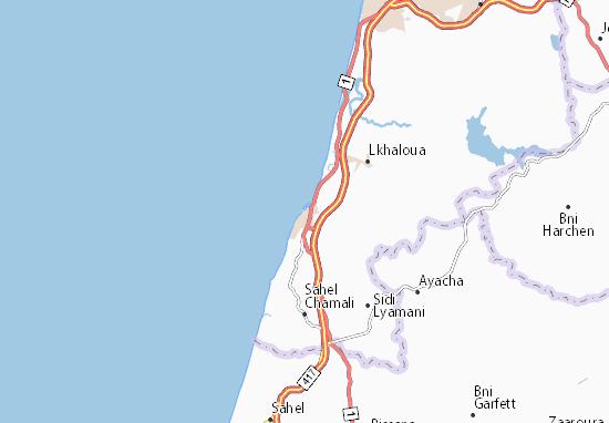 Asilah Map
