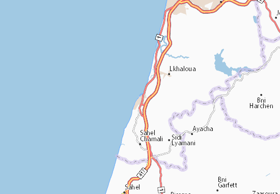 Mapa Plano Asilah