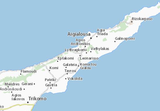 Karte Stadtplan Leonarisso