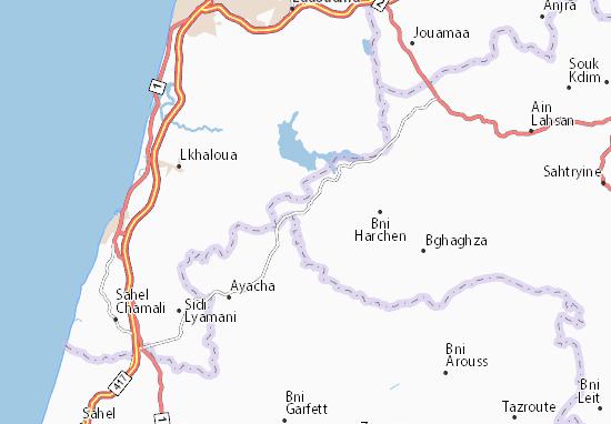 Mapas-Planos Jbel Lahbib