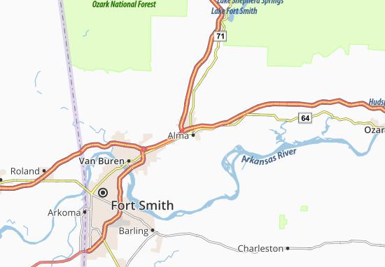 Alma Map