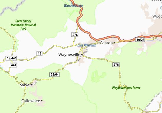 Mappe-Piantine Waynesville