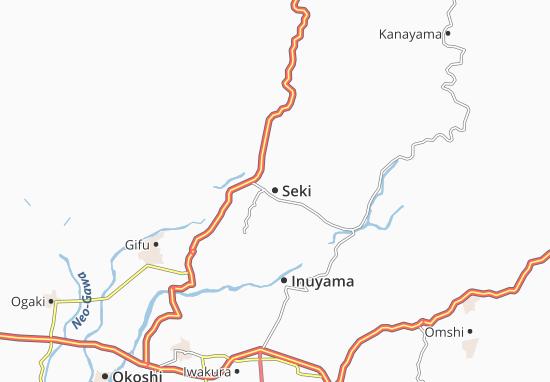 Mapa Plano Seki