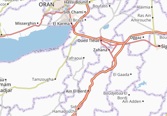 Carte-Plan Tafraoui
