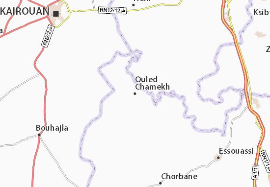 Carte-Plan Ouled Chamekh