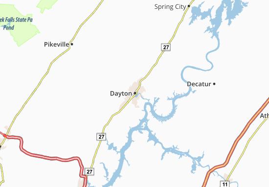 Carte-Plan Dayton