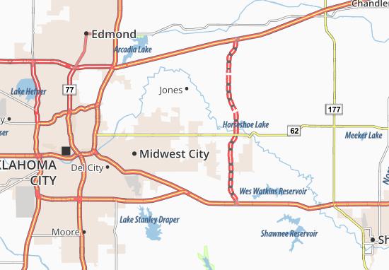 Choctaw Map