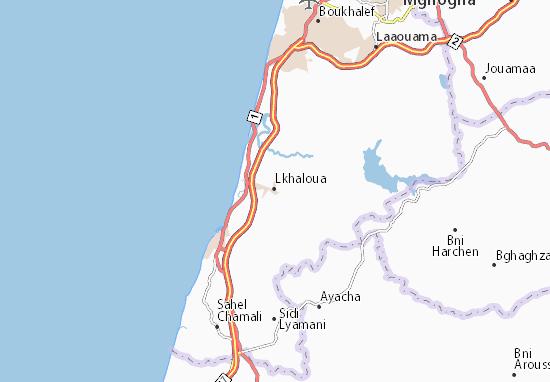 Mapas-Planos Lkhaloua