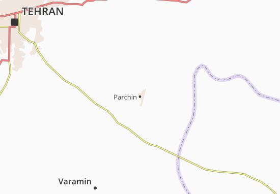 Parchin Map