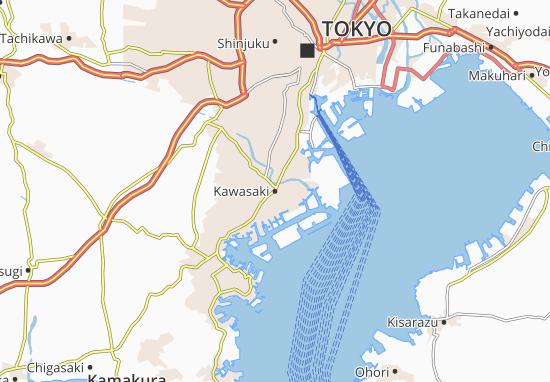 Kawasaki Map