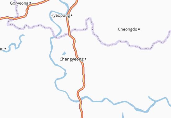 Changyeong Map