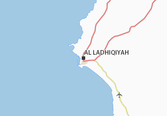 Carte-Plan Al Ladhiqiyah