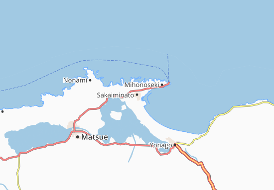 Sakaiminato Map