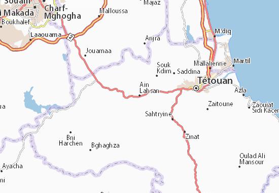Mapas-Planos Ain Lahsan