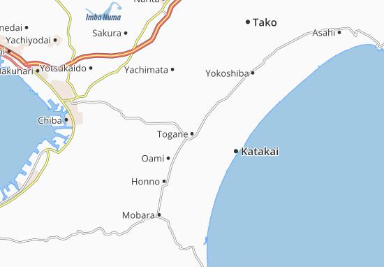 Togane Map