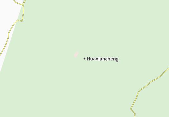 Kaart Plattegrond Huaxiancheng