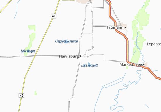 Harrisburg Map