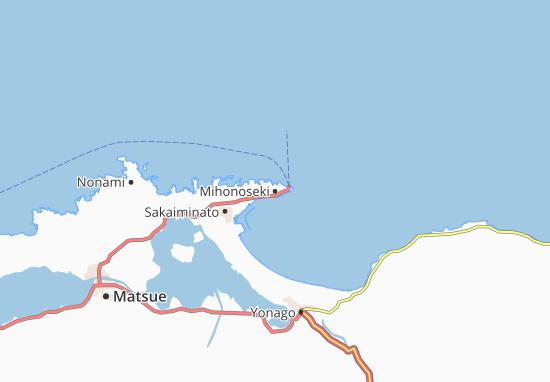Mihonoseki Map
