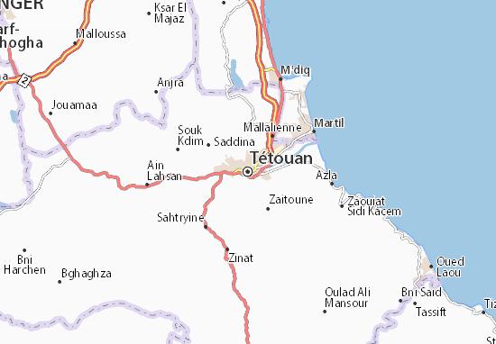 Mapas-Planos Tétouan