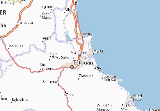 Mapas-Planos Mallalienne