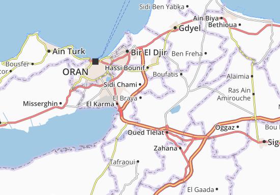 Carte-Plan El Braya