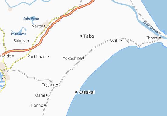 Yokoshiba Map