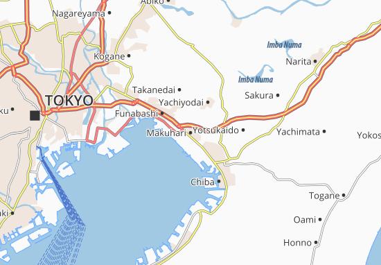 Carte-Plan Makuhari