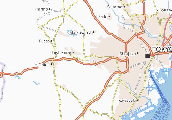 Kunitachi Map