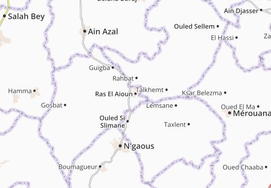 Carte-Plan Ras El Aioun